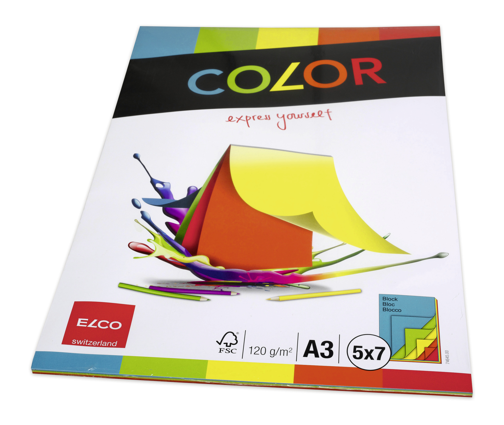 Elco color Drawing Pad A3 74645 Image