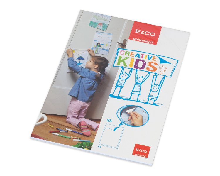 Elco creative kids drawing pad A4 Image