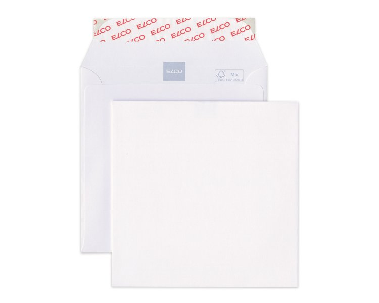 Elco square envelope white 145x145. 40948 Image