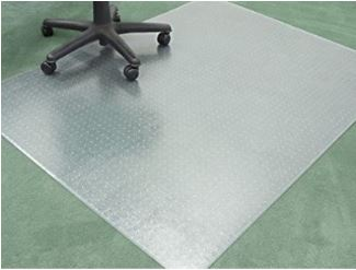 Floortex 90x120 Studded Chair mat for Carpets Image