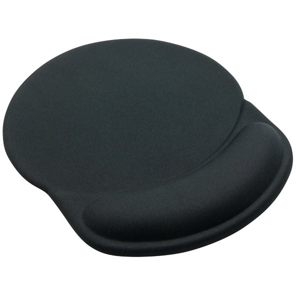 Micro Meilon Gel Mouse Pad With Wrist Support Image