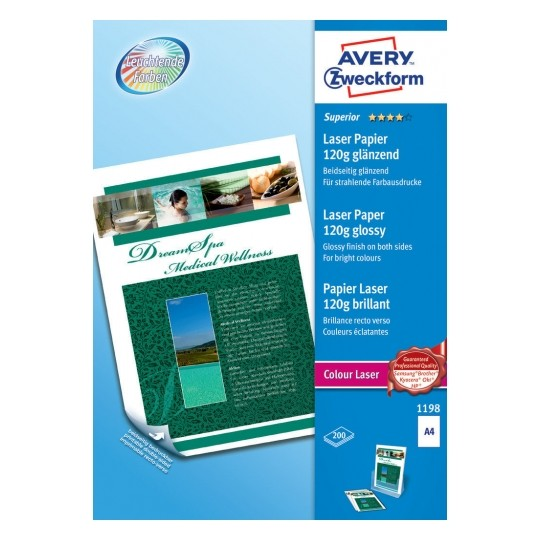 Avery Superior Colour Laser Glossy Paper Image