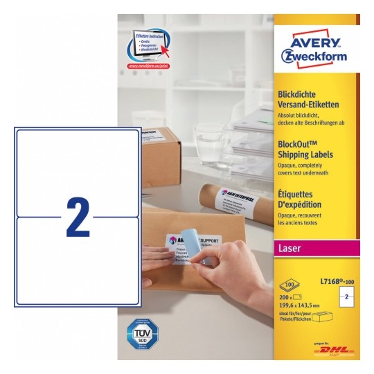 Avery Mailing Labels Image