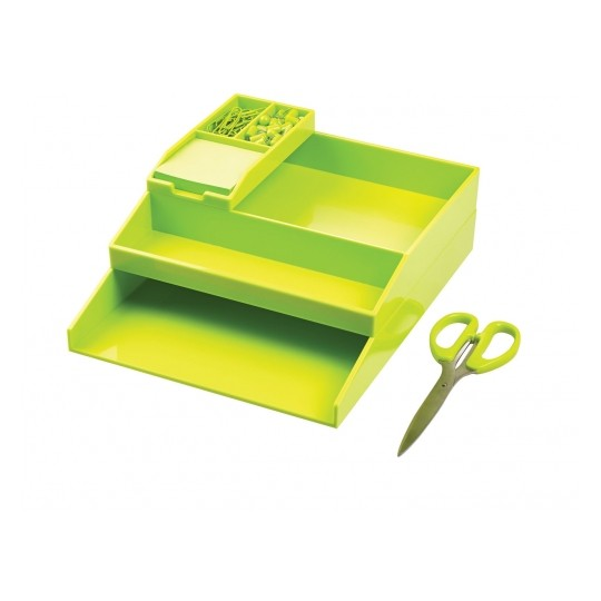 Avery Office Stack Set Neon Green Image