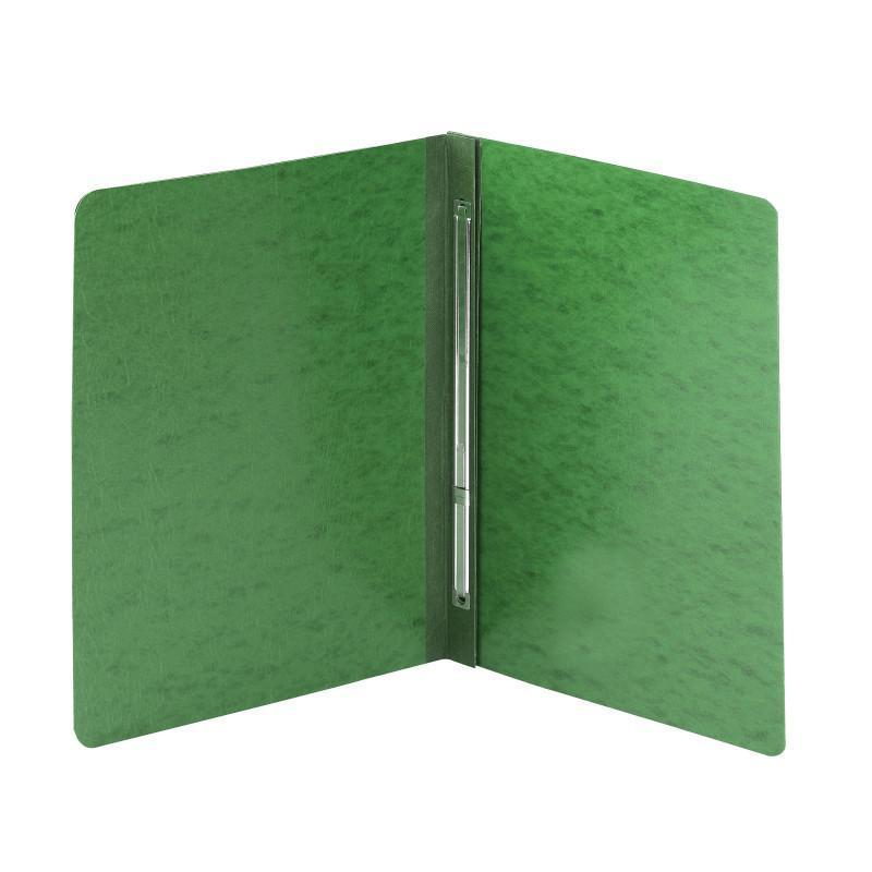 Smead PressGuard® Report Cover, Metal Prong with Compressor Side Fastener 3 inch Capacity Green Image
