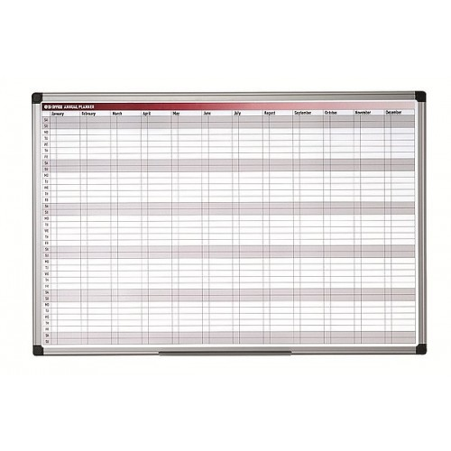 Bi-Office Magnetic Annual Planner Image