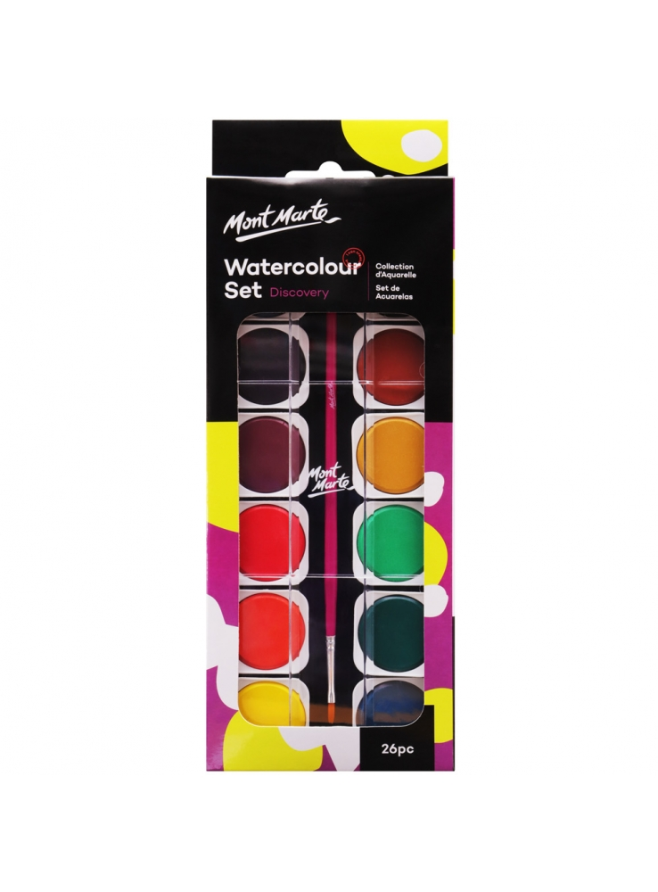 Mont Marte Discovery Water Colour Painting Set Image