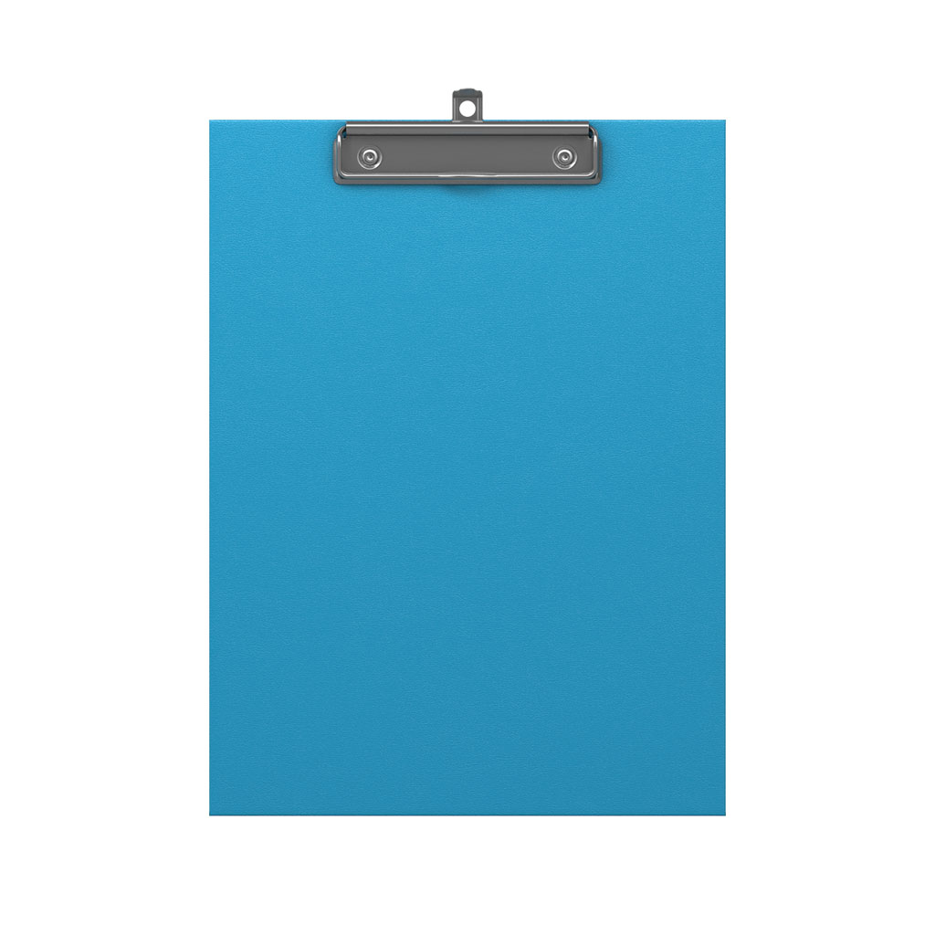 ErichKrause® A4 Clip-on Tablet Neon Blue Image